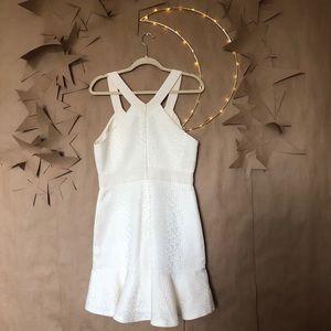Rebecca Taylor Dresses - ✨ La Vie Rebecca Taylor A Line Ruffle Mini Dress ✨